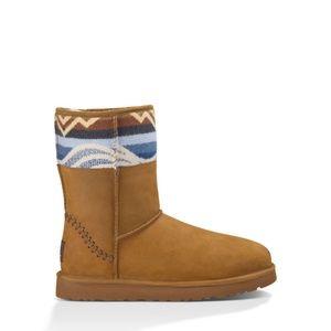 UGG Australia Classic Short Deco Pendleton Boots